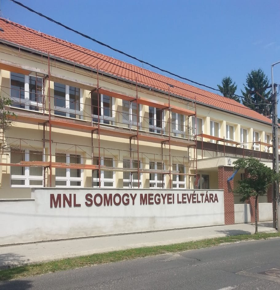 MNL Somogy Megyei Levéltára 400 Kaposvár, Bartók Béla u. 8.-10. Csütörtök: 14:00-16:30